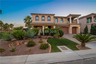 Las Vegas Single Family Home For Sale: 8281 Young Ridge Court