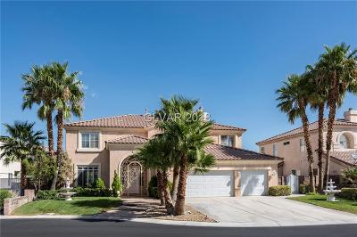 Las Vegas Single Family Home For Sale: 9582 Malasana Court
