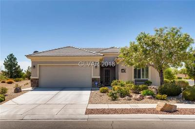 North Las Vegas Single Family Home Under Contract - No Show: 7490 Widewing Drive