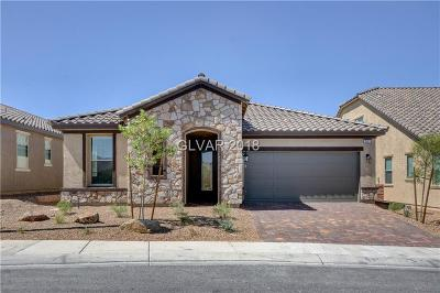Henderson Single Family Home For Sale: 2653 Cooper Gallery Street #lot 106