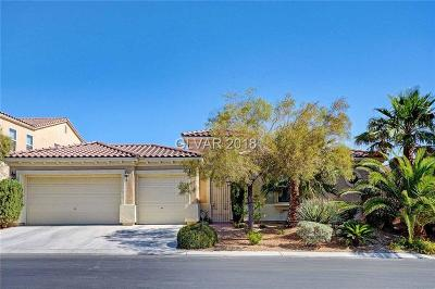 Las Vegas Single Family Home Under Contract - No Show: 7328 Salvadora Place