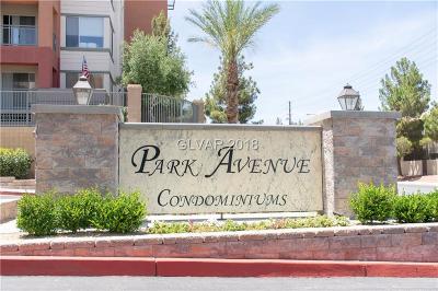 Las Vegas High Rise For Sale: 47 Agate Avenue #407