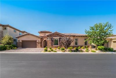 Las Vegas Single Family Home For Sale: 10 Carolina Cherry Drive