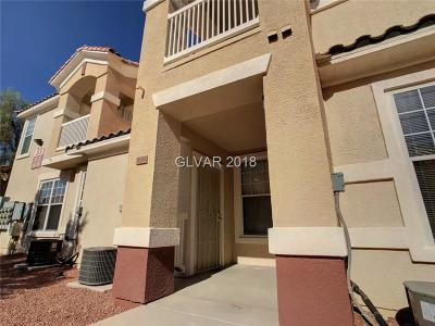North Las Vegas Condo/Townhouse For Sale: 5855 Valley Drive #1099