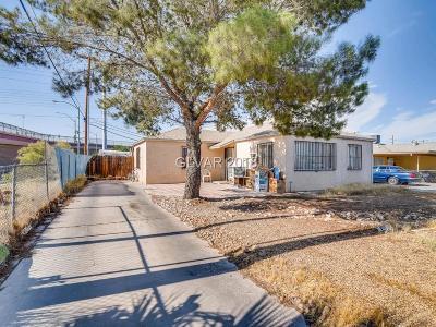 North Las Vegas Single Family Home Under Contract - No Show: 512 Lillis Avenue