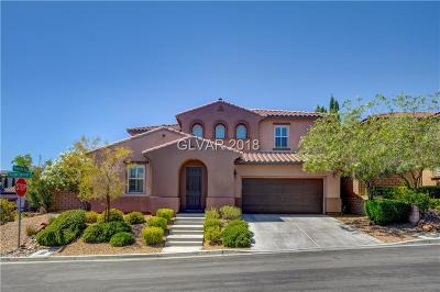 Las Vegas Single Family Home For Sale: 12021 Aragon Springs Avenue