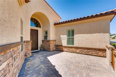 Las Vegas Single Family Home For Sale: 7583 Corvina Avenue