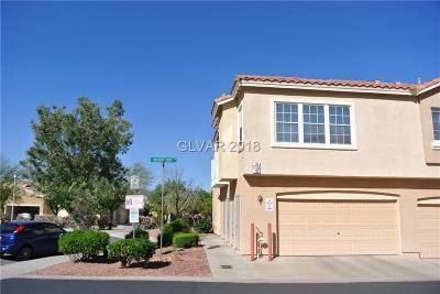 Boulder City Condo/Townhouse For Sale: 110 Harbor View Drive #110
