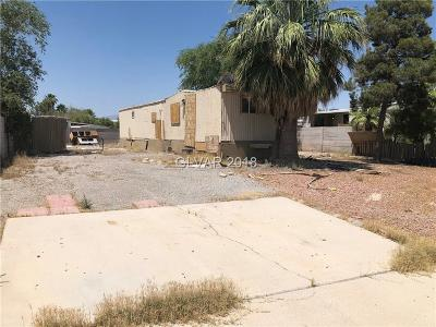 North Las Vegas NV Manufactured Home For Sale: $56,000