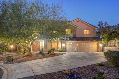 Las Vegas Single Family Home For Sale: 4799 Luna Ridge Court