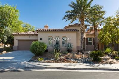 Henderson Single Family Home For Sale: 1281 Vietti Street
