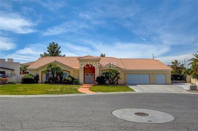 Las Vegas Single Family Home For Sale: 1321 Casa Del Rey Court