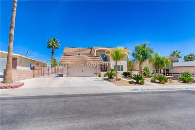 Boulder City Single Family Home For Sale: 1539 Mancha Drive