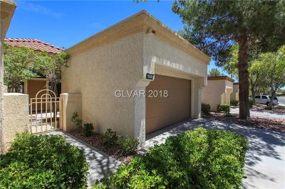 Sun City Summerlin Condo/Townhouse Contingent Offer: 8616 Desert Holly Drive