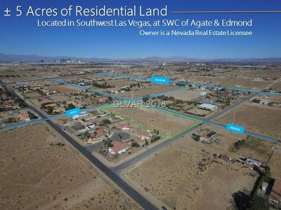 Las Vegas Residential Lots & Land For Sale: 1 Agate Ave