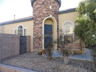 Las Vegas NV Single Family Home Under Contract - No Show: $240,000