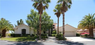 Las Vegas Single Family Home Under Contract - Show: 4870 Impressario Court
