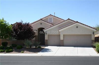 North Las Vegas Single Family Home For Sale: 4709 Spooners Cove Avenue