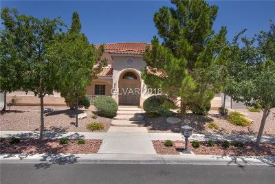 Las Vegas Single Family Home For Sale: 7220 Bachelors Button Drive