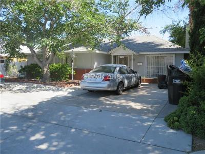 Las Vegas Single Family Home Contingent Offer: 1056 East Oakey Boulevard