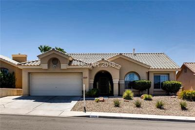 Henderson Single Family Home For Sale: 1025 Golda Way