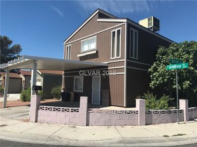 Las Vegas Single Family Home For Sale: 4160 Broadriver Drive