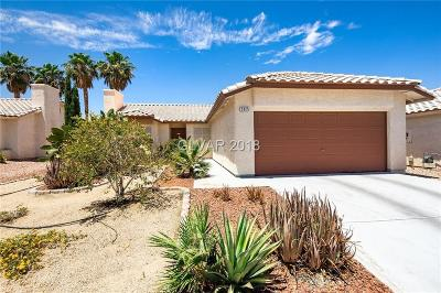 North Las Vegas Single Family Home Contingent Offer: 3925 Cheryl Clay Way