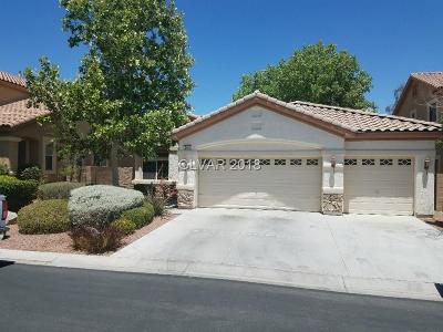 Las Vegas Single Family Home For Sale: 3480 Cupecoy Point Avenue