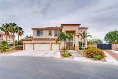 Las Vegas Single Family Home For Sale: 7030 Longley Street