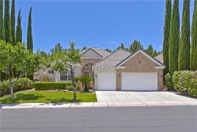 Las Vegas Single Family Home For Sale: 9701 Gavin Stone Avenue