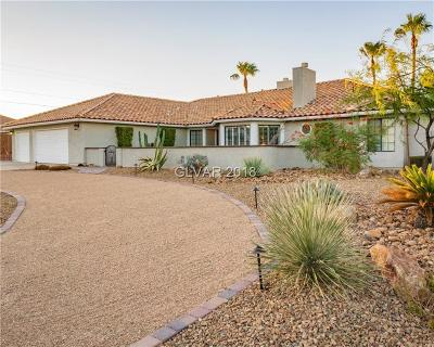 Henderson Single Family Home For Sale: 350 Desert Rose Drive