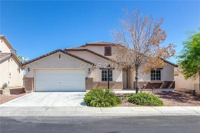 North Las Vegas Single Family Home For Sale: 1012 Hunters Ridge Way