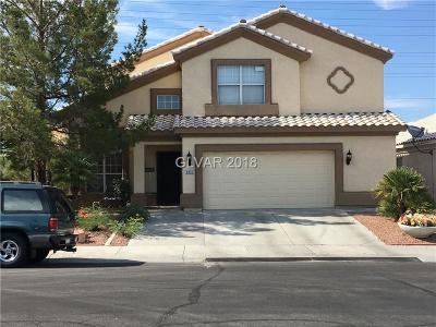 Las Vegas Single Family Home For Sale: 8016 Villa Finestra Drive