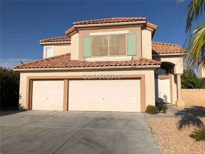 Las Vegas Single Family Home For Sale: 4702 Desert Plains Road