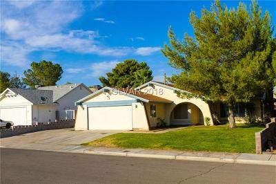 Boulder City Single Family Home Contingent Offer: 1513 Christina Drive