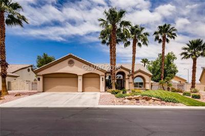 Las Vegas Single Family Home Contingent Offer: 6732 Bastille Avenue