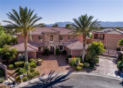Las Vegas Single Family Home Contingent Offer: 6575 Whispering Sands Drive