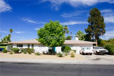 Las Vegas Single Family Home For Sale: 1605 South 15th Street