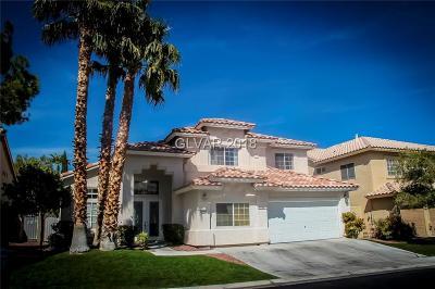 Las Vegas Single Family Home For Sale: 9584 Marina Valley Avenue
