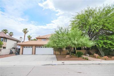 Las Vegas Single Family Home For Sale: 3368 Montessouri Street