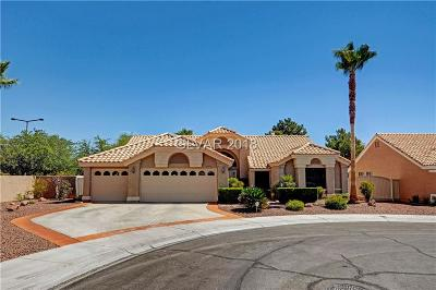 Las Vegas Single Family Home For Sale: 8436 Dutch Hill Court
