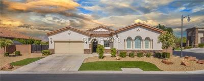 Las Vegas Single Family Home For Sale: 7581 Proud Meadows Street