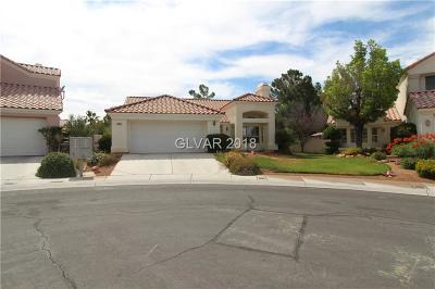 Las Vegas Single Family Home Under Contract - No Show: 7808 Blue Harbor Court