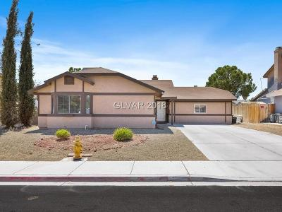 Las Vegas Single Family Home For Sale: 5309 Shady Grove Lane
