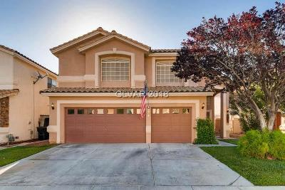 Las Vegas Single Family Home For Sale: 9378 Chateau St Jean Drive