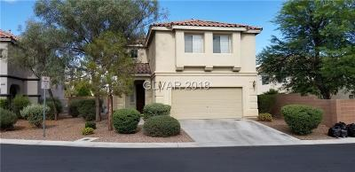 Las Vegas Single Family Home Under Contract - No Show: 5812 Pastel Colors Street