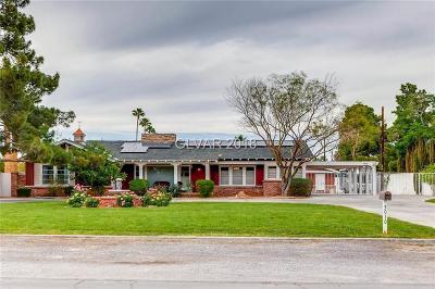 Las Vegas Single Family Home Contingent Offer: 3010 Ashby Avenue