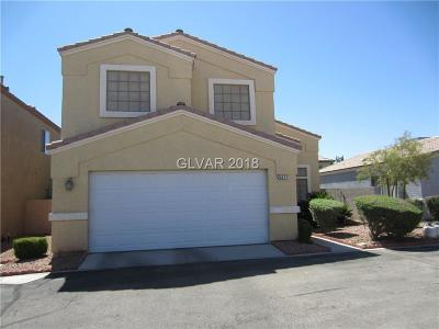 Las Vegas Single Family Home For Sale: 5217 Mineral Lake Drive