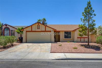 Henderson Single Family Home For Sale: 833 Anchor Drive