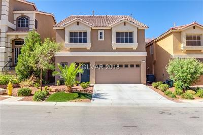 Las Vegas NV Single Family Home Under Contract - No Show: $363,000